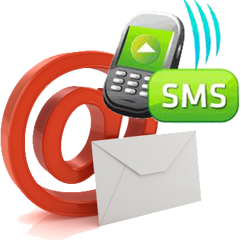 Email and SMS interaction